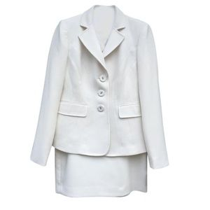 Anne cole long sleeve skirt suit